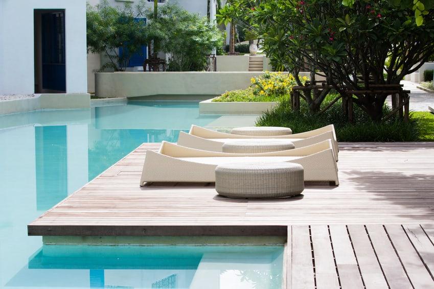 Pool für Private und Hotels