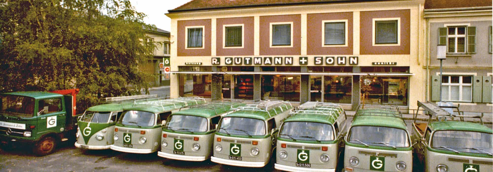 Gutmann Instatllationen 1976